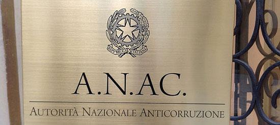 monitoraggio conoscitivo ANAC