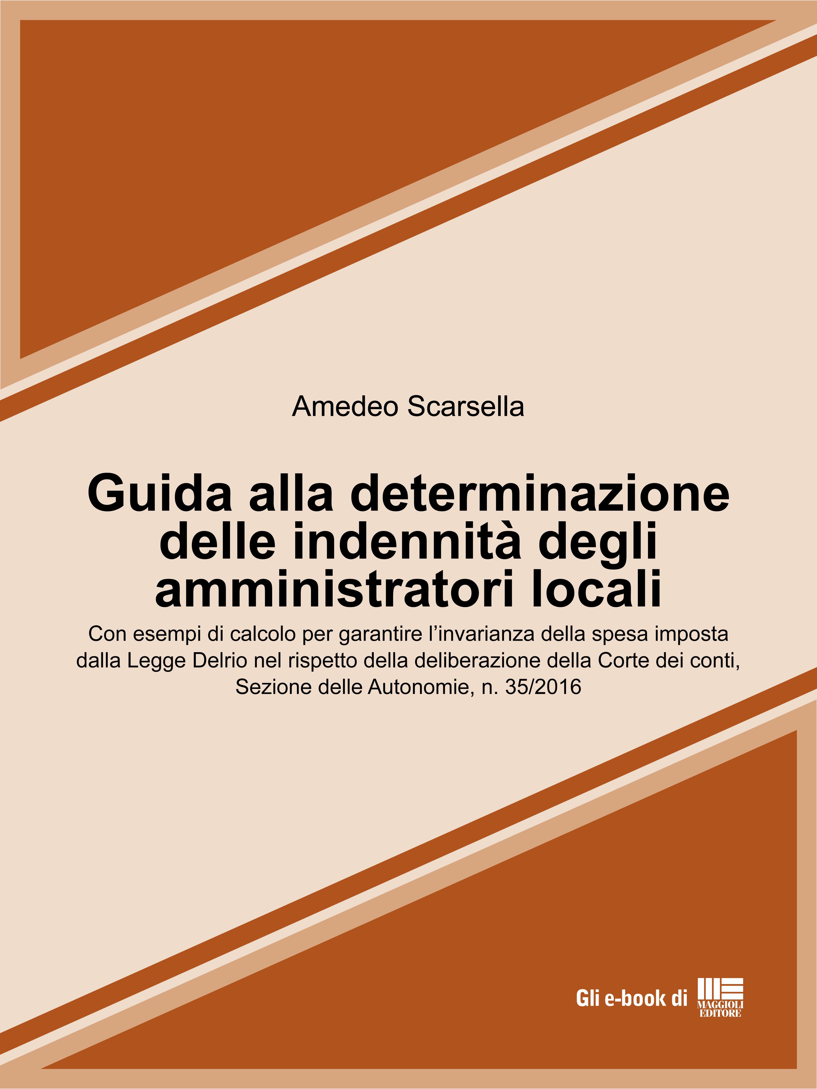 Guida alla determinazione delle indennit� degli amministratori locali
