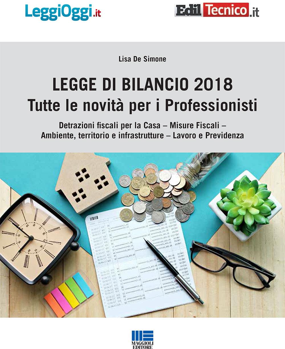 Legge di Bilancio 2018: tutte le novit� per i professionisti