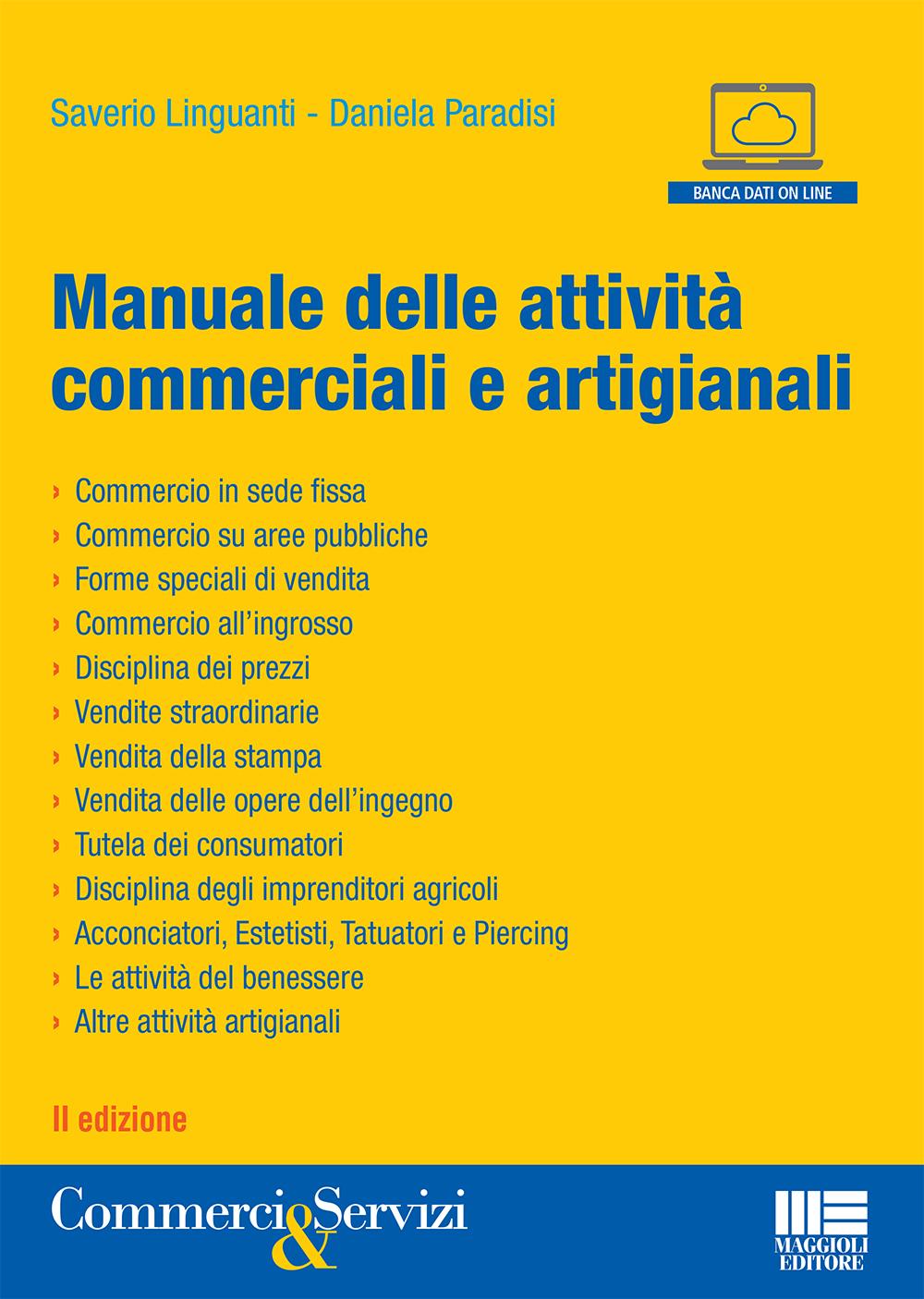MANUALE DELLE ATTIVITA\' COMMERCIALI ED ARTIGIANALI