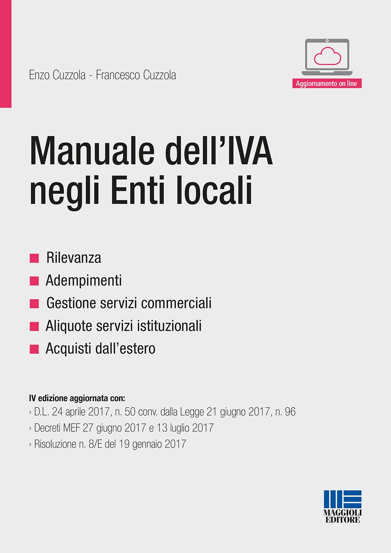 Manuale dell�IVA negli Enti locali