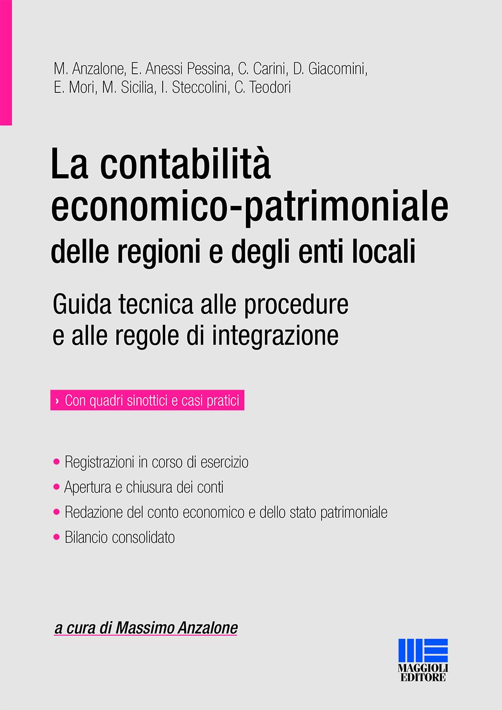 La contabilit� patrimoniale delle regioni e degli enti locali