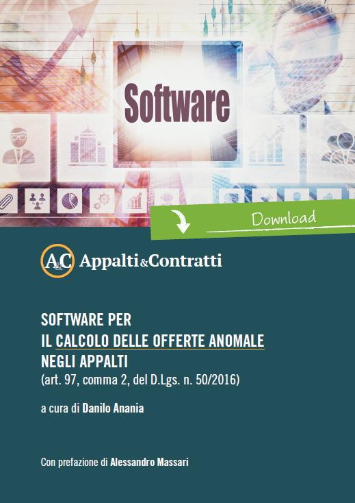 Software per il calcolo delle offerte anomale negli appalti (art. 97, comma 2, del D.Lgs. n. 50/2016)