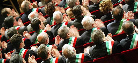 I sindaci e l'ANCI incontrano il Presidente di Consiglio
